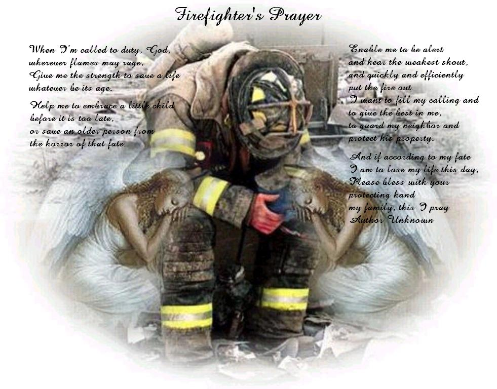 Coquitlam Firefighters - Firefighter Prayer